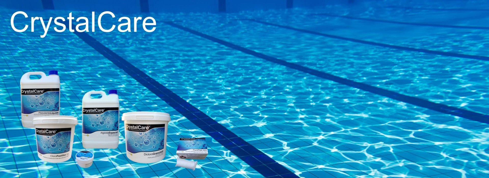 The best solutions and products to get the best water quality in the pool